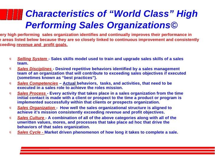 characteristics helpful hints high