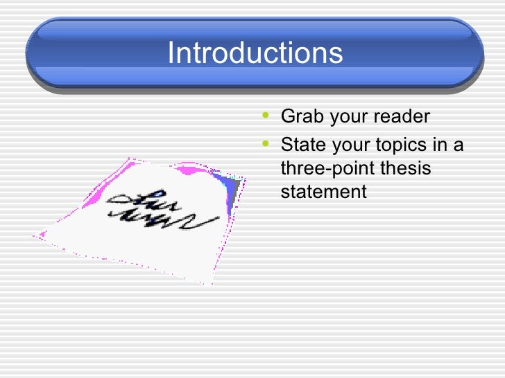 write better introductions and conclusions An introduction to the context or background of the topic (you could include interesting facts or quotations) the reason for writing about this topic definitions of any complex terminology that will be referred to throughout the assignment ( note that definitions are not always necessary) introduce the main ideas that stem from.