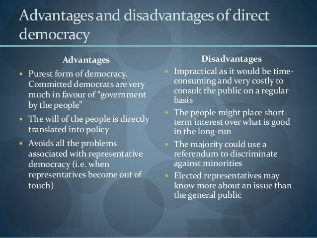 the representative democracy in the united kingdom A representative assembly is a political institution in and the parliament of the united kingdom has encouraged the spread of representative democracy.