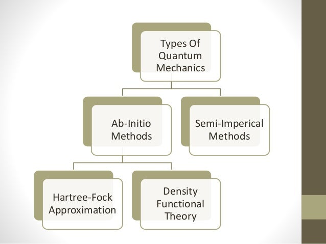 Hartree-Fock Approximation •Advantages- 1. Dose not depend on experimental data 2. Small system 3. System requiring high a...