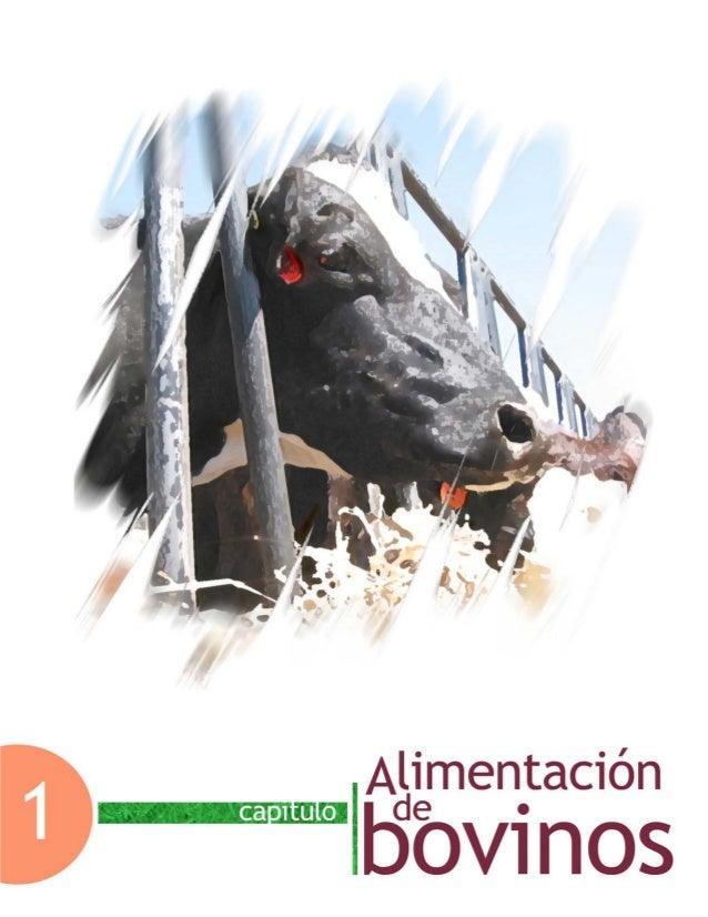 Capítulo 1. Alimentación de bovinos Facultad de Medicina Veterinaria y Zootecnia-UNAM 7 Capítulo 1. Alimentación de bovinos