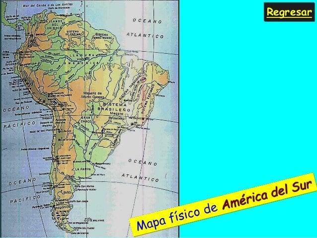 ASPECTO FSICO DE AMRICA DEL SUR