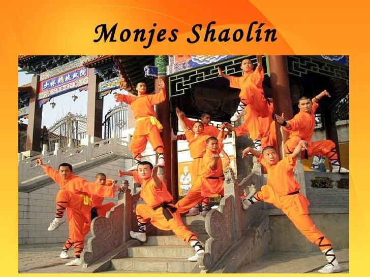 Monjes Shaolín