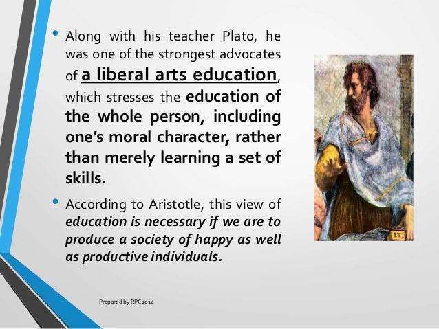 aristotle curriculum of education