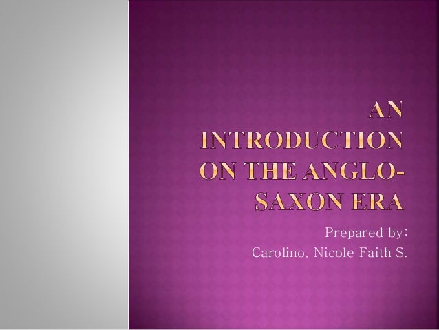 Prepared by:  Carolino, Nicole Faith S.