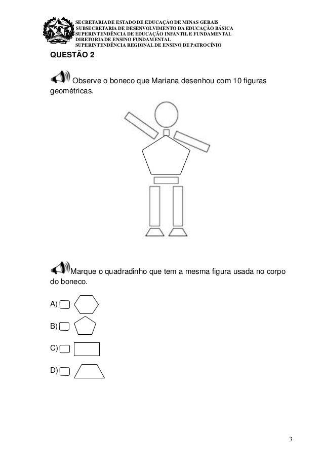 1º ano  matemática avaliação diagnóstica  Slide 3