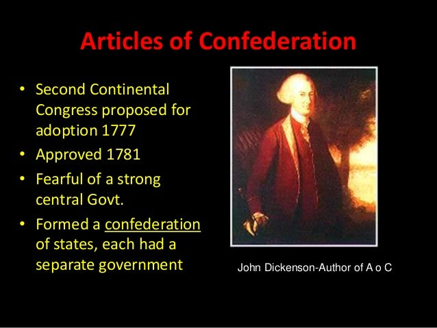 the ineffectiveness of the articles of confederation A people's history pp 89-95 (doc file - 39 kb) acc - reading for homework assignment on shay's rebellion and the ineffectiveness of the articles of confederation.