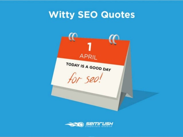 Witty SEO Quotes Slide 1