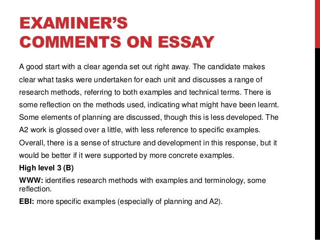 example of a great essay