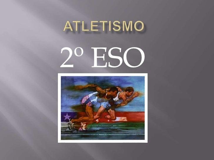 Atletismo 2º ESO