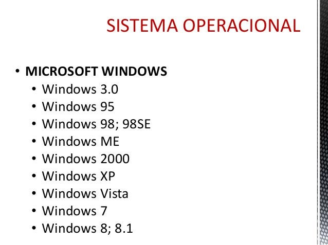 SISTEMA OPERACIONAL  • MÓVEL  • Android  • Windows Phone  • iOS*  • LINUX  • Ubuntu  • LE – Linux Educacional  • Mandriva ...