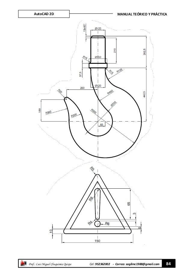 MANUAL PRACTICO DE AUTOCAD 2D
