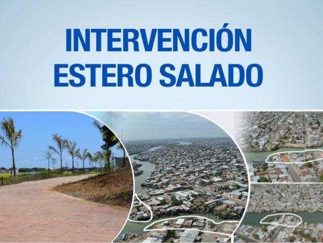 ESTERO SALADO SECTOR TRINITARIA VISTA TRAMO 1 SECTOR TRINITARIA PARQUE LINEAL SECTOR TRINITARIA 2.421 FAMILIAS REUBICADAS