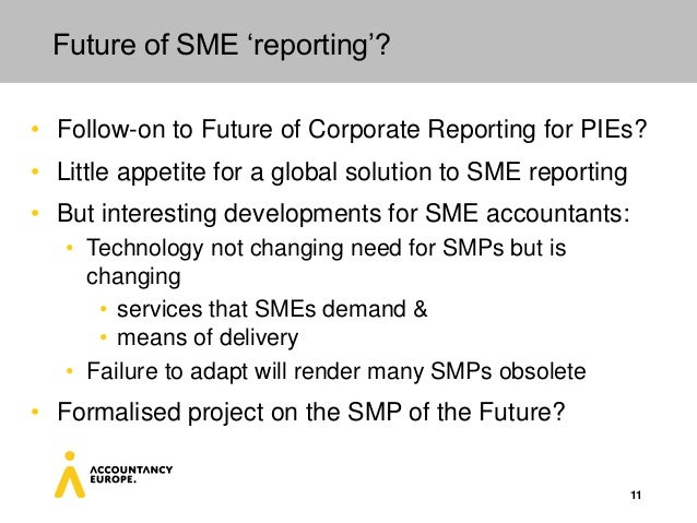 Challenges and Opportunities for SMPs