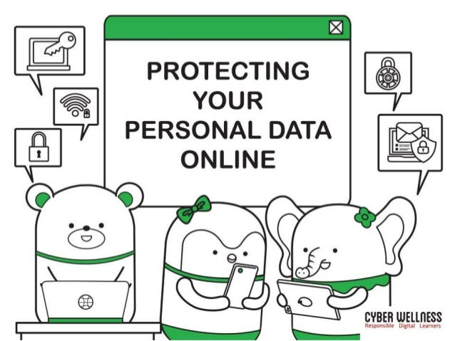 ARE YOU PROTECTING YOUR PERSONAL DATA ONLINE?