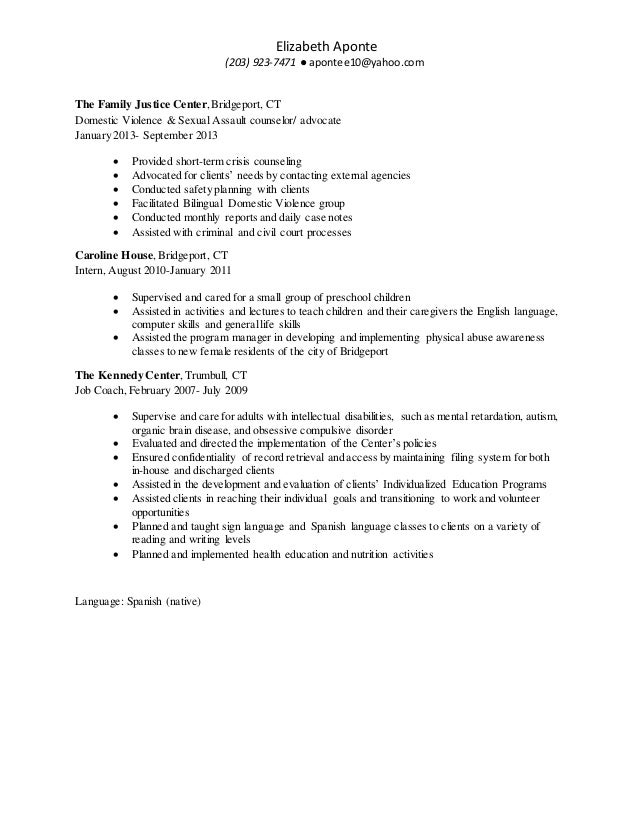 best domestic violence advocate resume contemporary simple