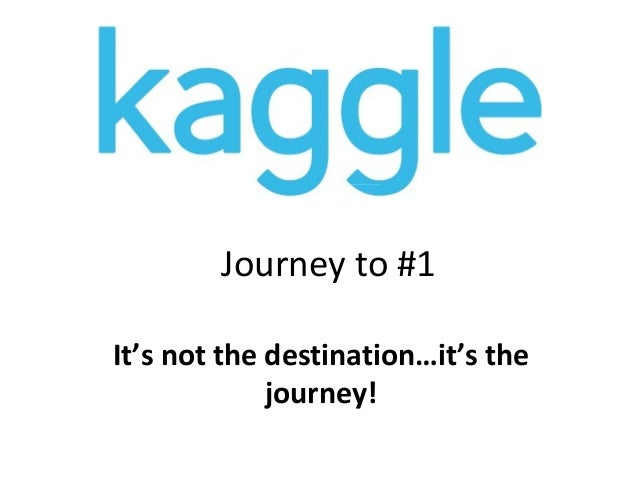 Journey to #1 It's not the destination…it's the journey!