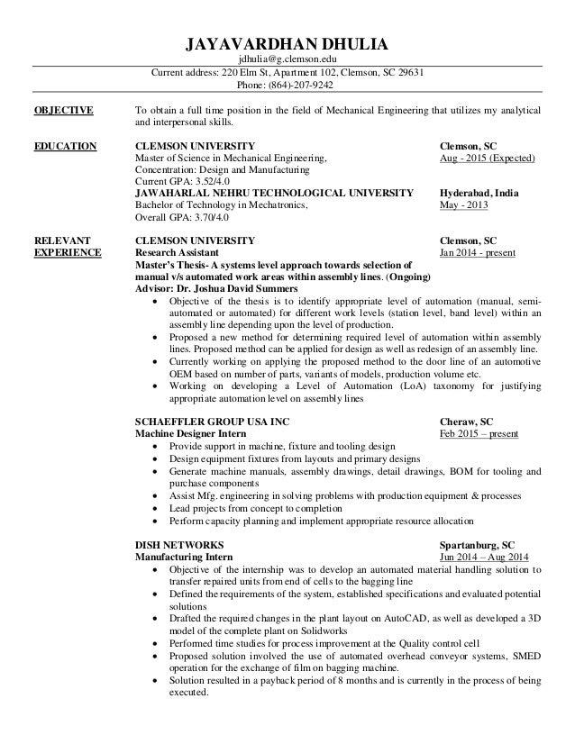 address on resume samples