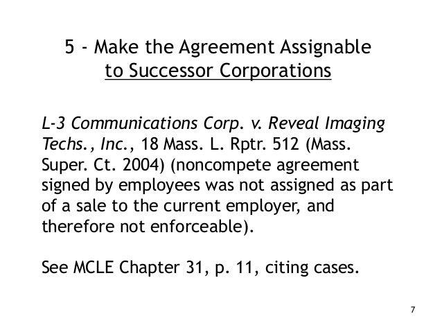 Massachusetts noncompete law 7 5 make the agreement platinumwayz