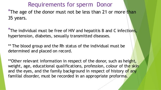 Iui using donor sperm