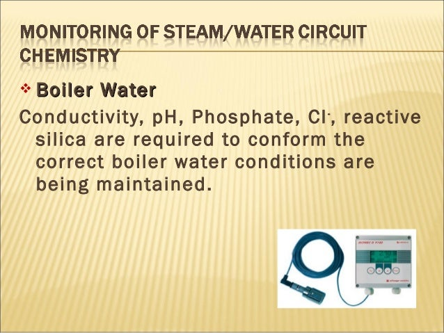 Boiler Water Conductivity ~ Power plant chemistry