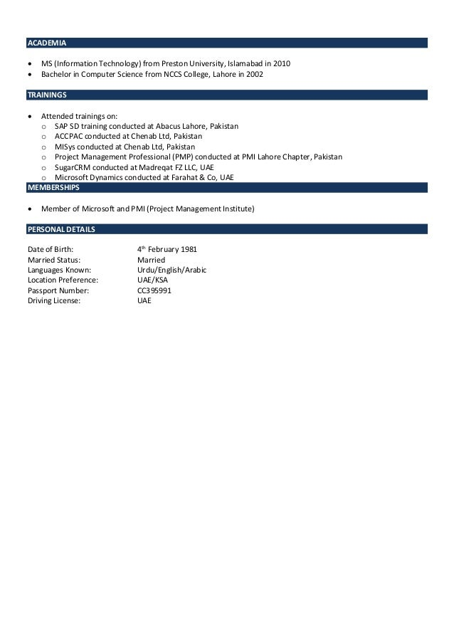 mubasshar u0026 39 s resume