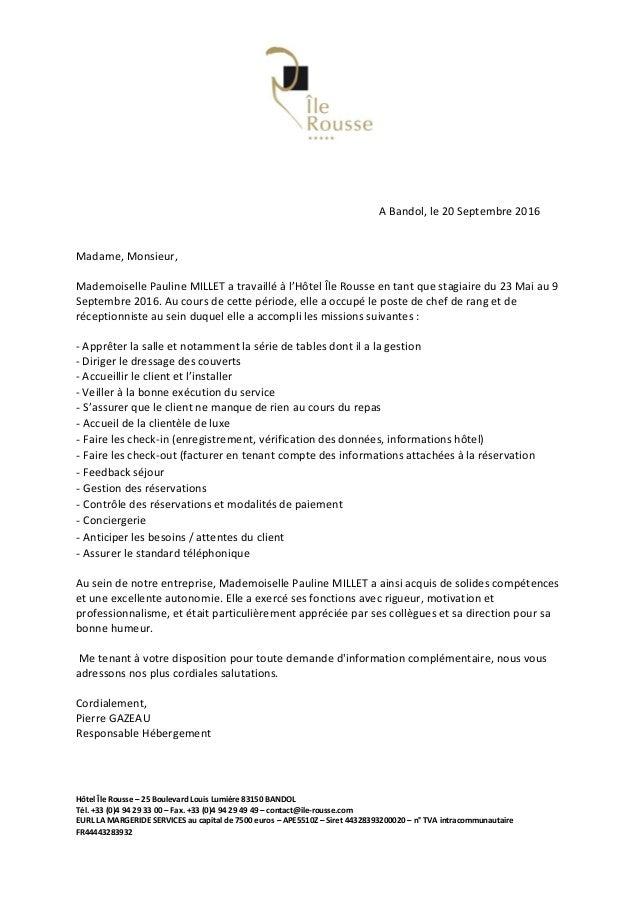 Lettre de recommandation Pauline Millet 2