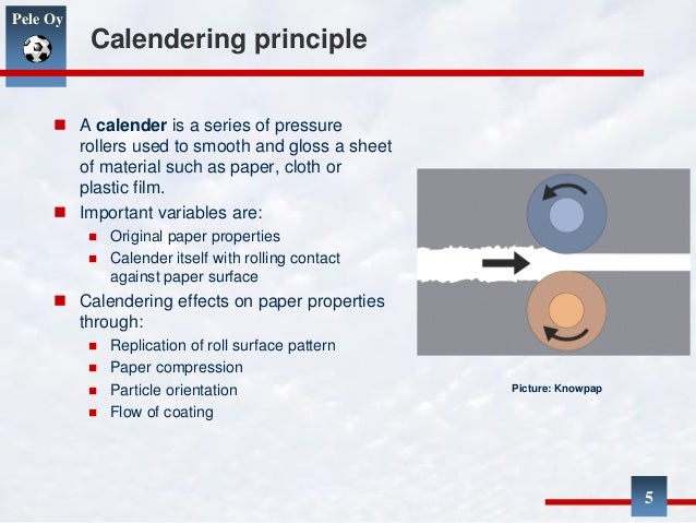 Calendering Slideshare 3 March