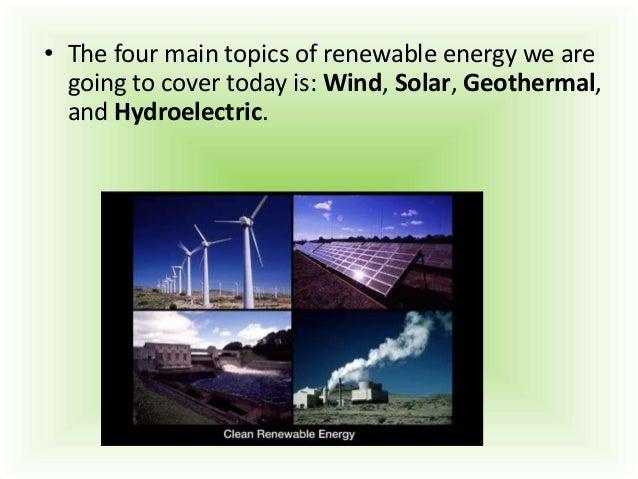 renewable energy presentation renewable energy 3