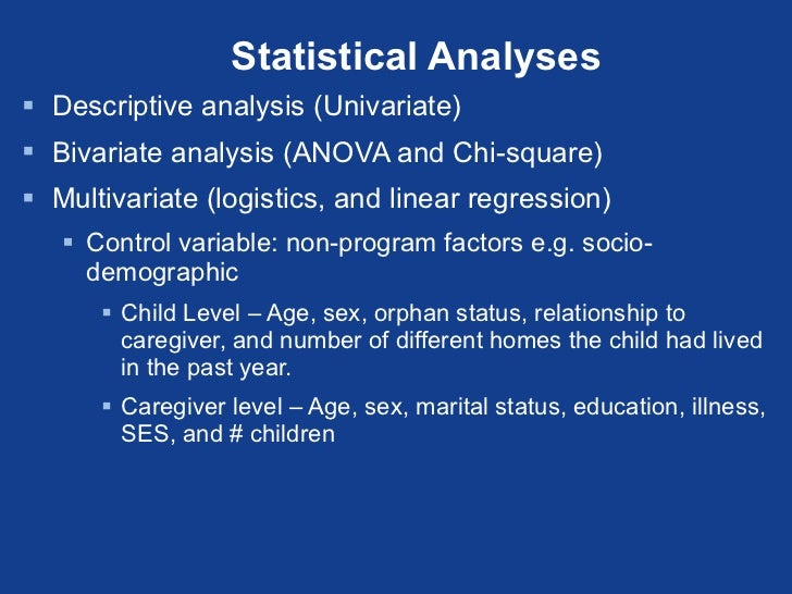 Targeted evaluation of five programs supporting orphans and vulnerabl statistical publicscrutiny Gallery
