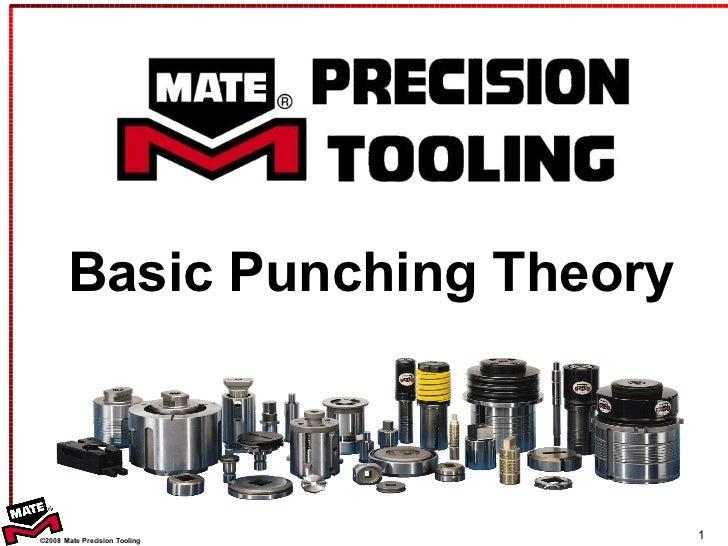 <ul><li>Basic Punching Theory </li></ul>