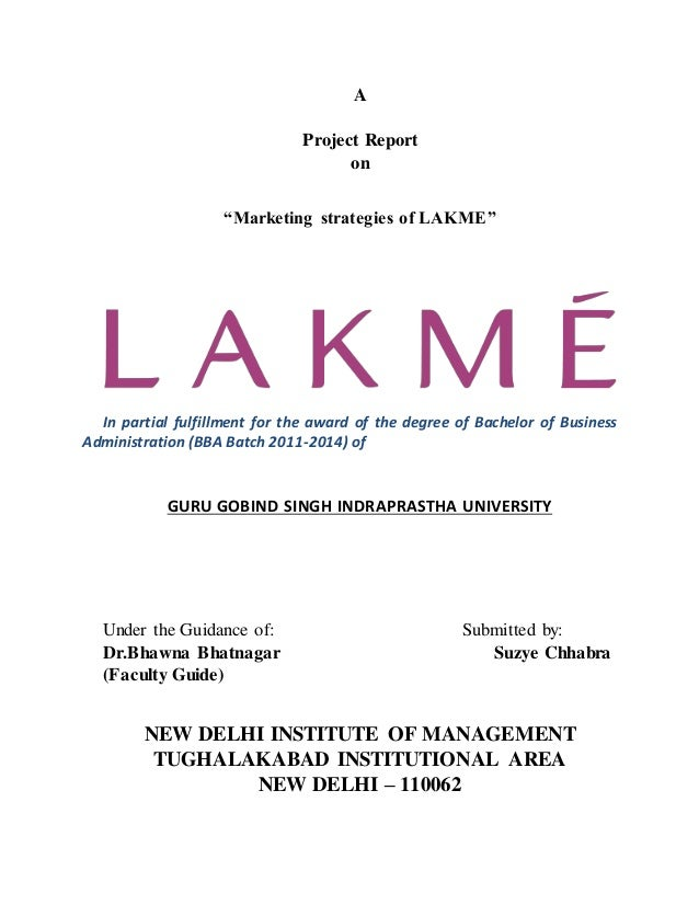 lakme branding strategies To know the product strategies that the organization allows to  44 branding branding is  lakme using fruit fragrance which has found a distinct.