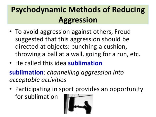 how can aggression be reduced essay This essay will describe the main theories of aggression which are opposed in the age old nature vs nature debate - the biological approach and social approach - and also consider a third approach which combines the two known as the bio-social approach to come to a conclusion as to whether human aggression is innate or learned.