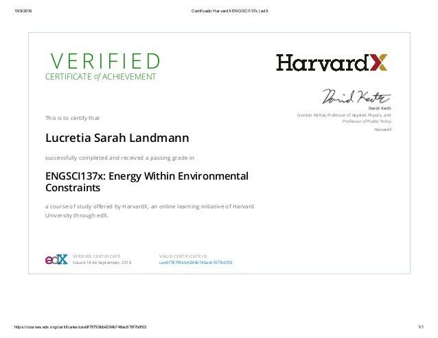 Certificado HarvardX ENGSCI137x _ edX