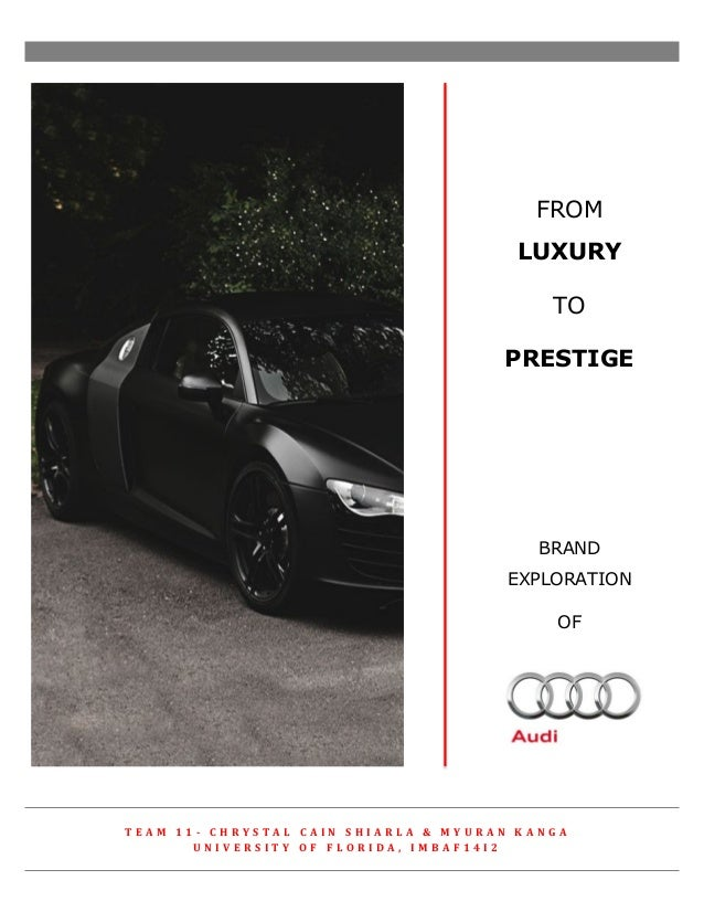 brand positioning of audi