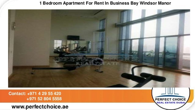 1 Bedroom Apartment For Rent In Business Bay Windsor Manor Dubai