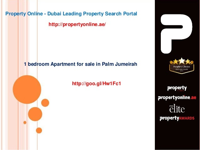 1 bedroom Apartment for sale in Palm Jumeirah Property Online - Dubai Leading Property Search Portal http://propertyonline...