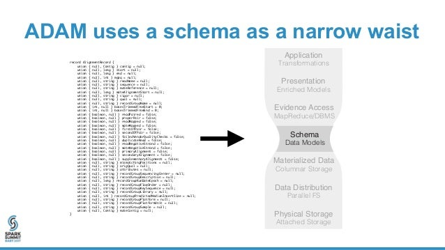 Processing Terabyte-Scale Genomics Datasets with ADAM