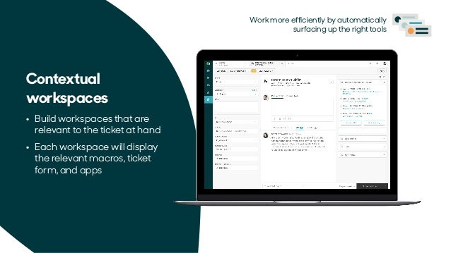 Go with the workflow: Enhanced agent experiences in Zendesk