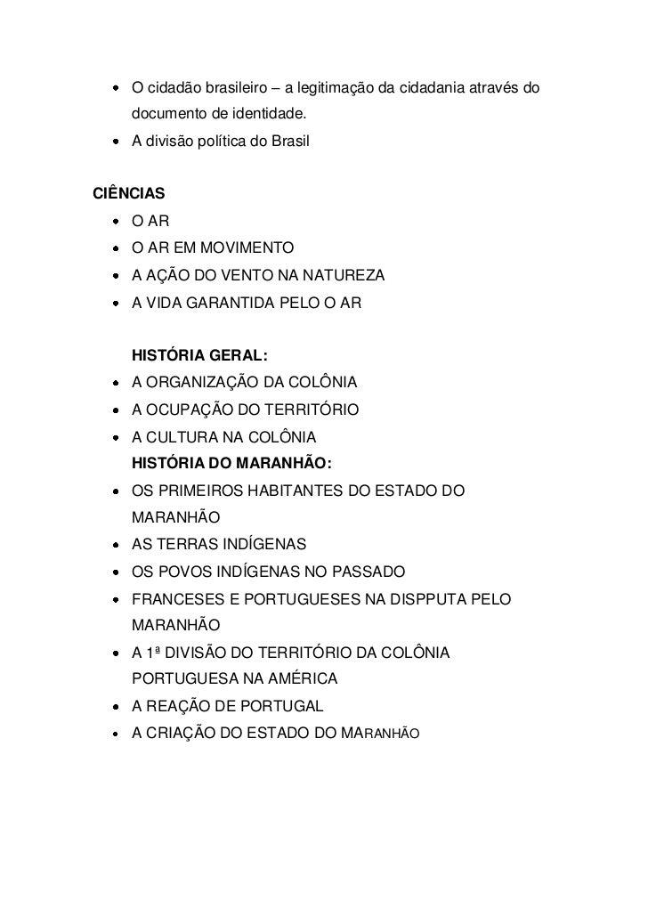 O cidadão brasileiro – a legitimação da cidadania através do    documento de identidade.    A divisão política do BrasilCI...