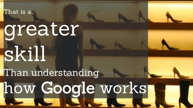 Apply how Google works to my understanding of how people work