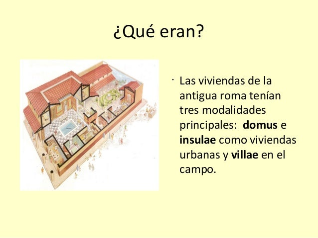 Las casas romanas 1 b Como eran las casas griegas