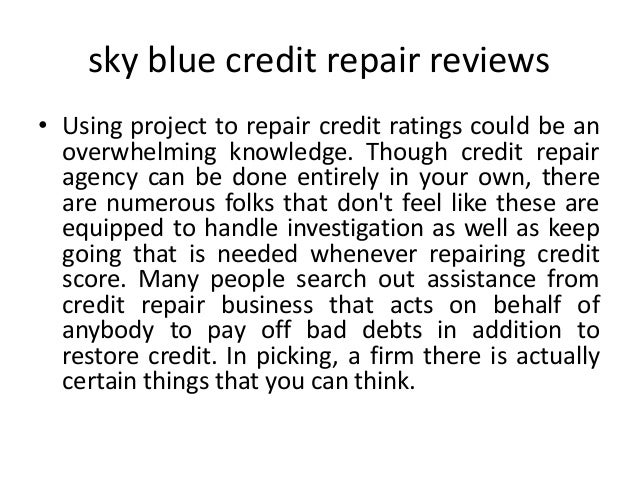 boosting your credit ratings along with credit repair agency providers Slide 2