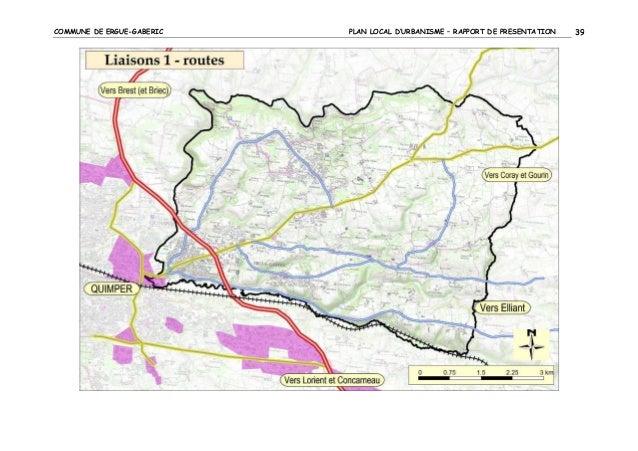 COMMUNE DE ERGUE-GABERIC  PLAN LOCAL D'URBANISME – RAPPORT DE PRESENTATION  39
