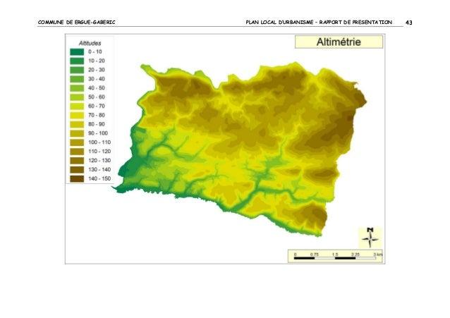 COMMUNE DE ERGUE-GABERIC  PLAN LOCAL D'URBANISME – RAPPORT DE PRESENTATION  43