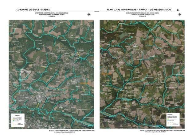 COMMUNE DE ERGUE-GABERIC  PLAN LOCAL D'URBANISME – RAPPORT DE PRESENTATION  51