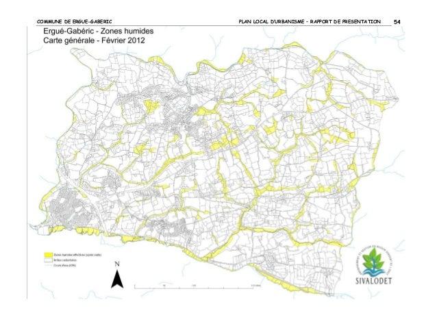 COMMUNE DE ERGUE-GABERIC  2.3.3  PLAN LOCAL D'URBANISME – RAPPORT DE PRESENTATION  54