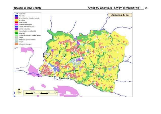 COMMUNE DE ERGUE-GABERIC  PLAN LOCAL D'URBANISME – RAPPORT DE PRESENTATION  65