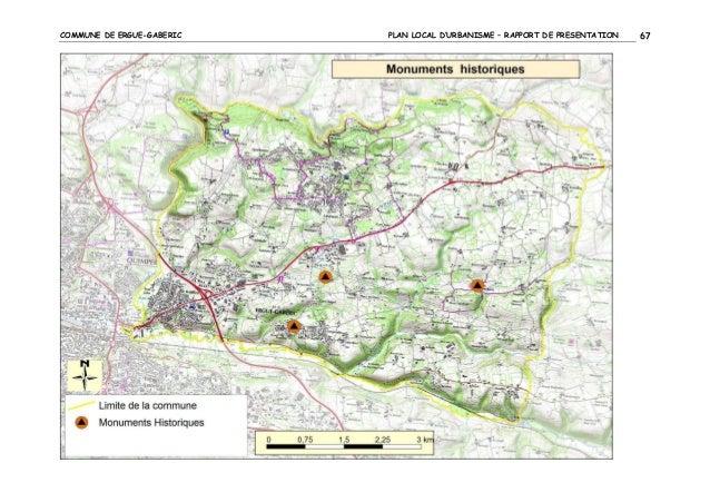 COMMUNE DE ERGUE-GABERIC  PLAN LOCAL D'URBANISME – RAPPORT DE PRESENTATION  67