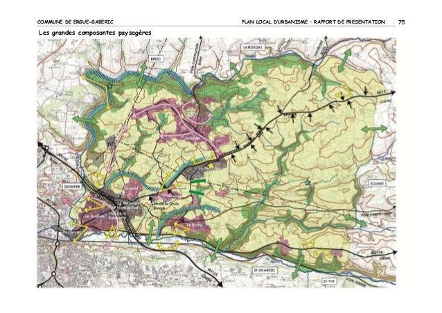 COMMUNE DE ERGUE-GABERIC  Les grandes composantes paysagères  PLAN LOCAL D'URBANISME – RAPPORT DE PRESENTATION  75